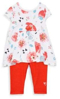 Catimini Baby's Floral Dress Set