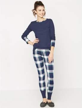 Splendid Cozy 2 Piece Plaid Maternity Pajama Set