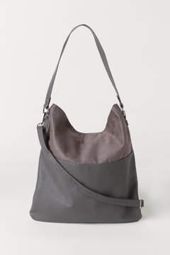 H&M Shopper with Shoulder Strap - Gray