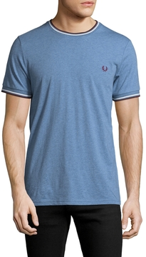 Fred Perry Men's Solid Crewneck T-Shirt