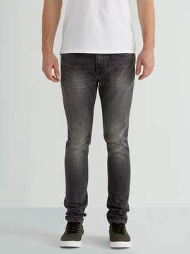 Frank and Oak The Tyler Skinny-Ft Stretch Jean in Distressed Black