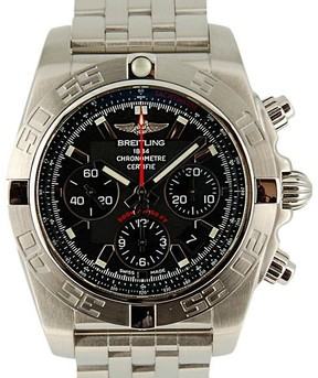 Breitling Chronomat A010B08PA Stainless Steel Automatic 44mm Mens Watch
