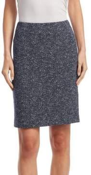 Akris Punto Jersey Jacquard Mini Skirt