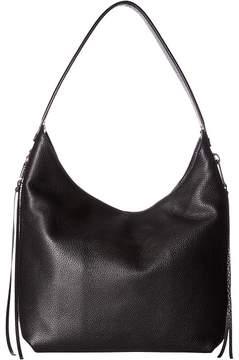 Rebecca Minkoff Medium Bryn Double Zip Hobo Hobo Handbags - ALMOND - STYLE