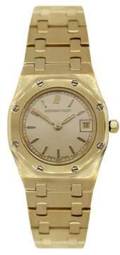Audemars Piguet Royal Oak 1309 18K Yellow Gold 24.5mm Womens Watch