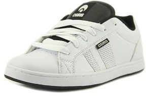 Osiris Loot Youth Round Toe Synthetic White Skate Shoe.