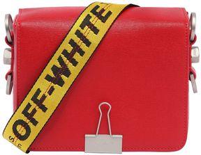 Binder Clip Leather Shoulder Bag