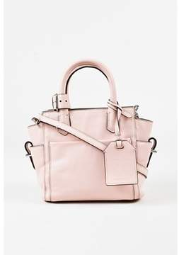 Reed Krakoff Pre-owned Pink Leather Mini atlantique Crossbody Bag.