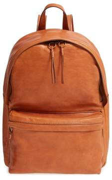 Madewell Lorimer Leather Backpack - Brown