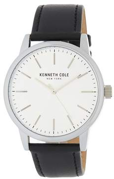 Kenneth Cole New York Men's Leather Strap Watch