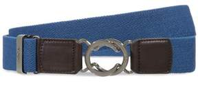 Tod's Men's Blue Canvas Belt.
