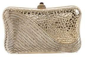 Judith Leiber Crystal-Embellished Box Clutch