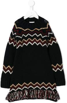 Moncler knitted dress