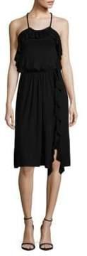Ella Moss Ruffled Halter Dress
