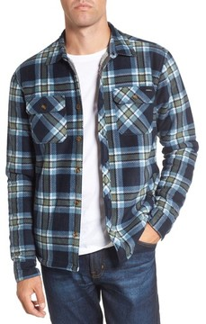 O'Neill Men's Glacier Heat Dome Plaid Fleece Shirt