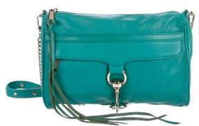 Rebecca Minkoff Leather M.A.C. Clutch - GREEN - STYLE