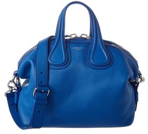 Givenchy Nightingale Small Leather Satchel.