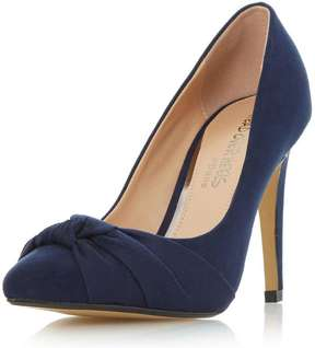 Head Over Heels *Head Over Heels By Dune Navy Arria High Heel Shoes