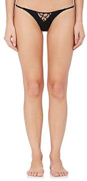 Fleur Du Mal Women's Star-Lace Bikini Briefs