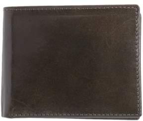 Johnston & Murphy Men's Flip Billfold Leather Wallet - Grey