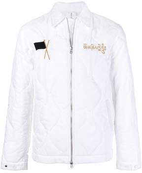 MHI embroidered padded jacket