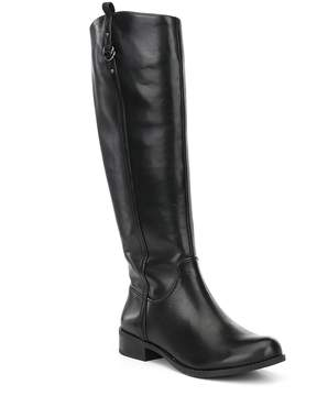 Gianni Bini Jayceson Leather Block Heel Riding Boots
