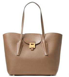 Michael Kors Textured Leather Tote - ONE COLOR - STYLE