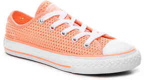 Converse Girls Chuck Taylor All Star Knit Toddler & Youth Sneaker