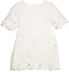 Stella McCartney Harper Eyelet Shift Dress, Size 4-14