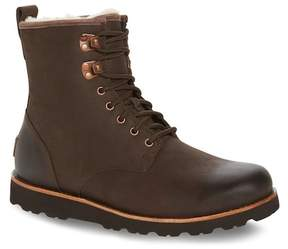 UGG Hannen Plain Toe Waterproof Boot with Genuine Shearling (Men)