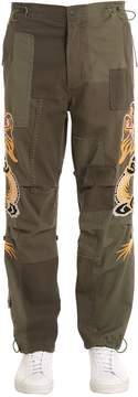 MHI Dragons Patchwork Cotton Pants