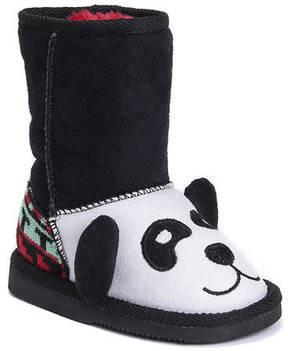 Muk Luks Oreo the Panda Bear Boot (Kids Toddler)