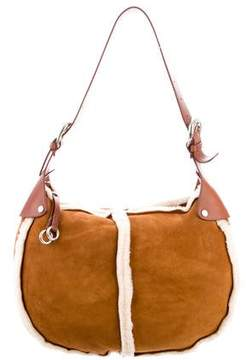 MICHAEL Michael Kors Shearling Medium Hobo
