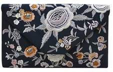 La Regale Embroidered Matte Satin Floral.