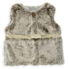 Lili Gaufrette Baby's Faux Fur Vest