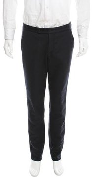 TOMORROWLAND Wool Flat Front Pants