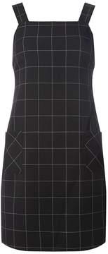 Dorothy Perkins Black Checked Pinafore Dress