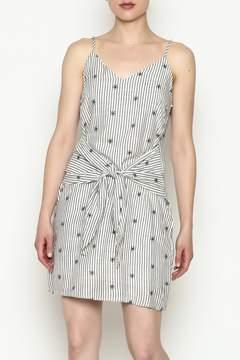 Everly Waist Tie Dress