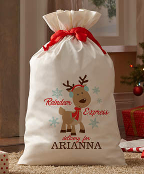 Express Personalized Reindeer Oversize Delivery Gift Bag