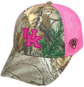 Top of the World Adult Kentucky Wildcats Sneak Realtree Snapback Cap