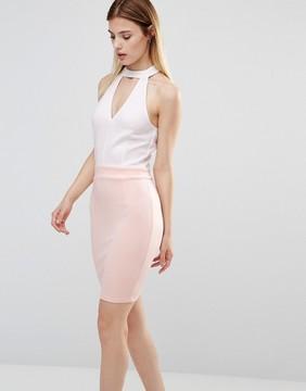 AX Paris Choker Neck Dress