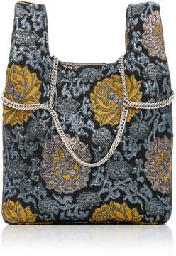 Hayward Venetian Chain Strap Brocade Mini Shopper