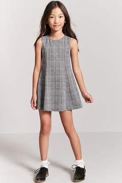Forever 21 Girls Glen Plaid Dress (Kids)