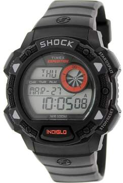 Timex Men's Expedition T49977 Black Rubber Quartz Watch