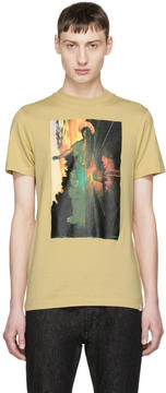 Facetasm Beige Croissany T-Shirt