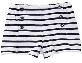 Chicco Girls' Blue & White Striped Short.