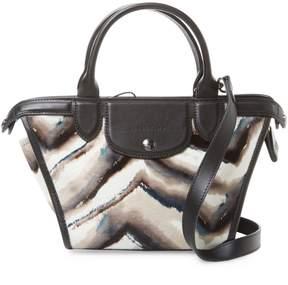 Longchamp Women's Le Pliage Heritage Luxe Crossbody Bag - WHITE - STYLE
