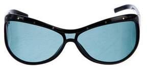 Bottega Veneta Studded Polarized Sunglasses