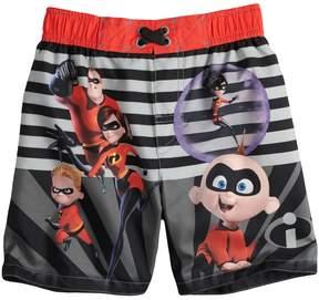 Trunks Disney Pixar Disney / Pixar The Incredibles Toddler Boy Striped Swim