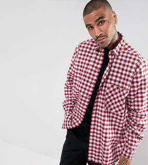 Reclaimed Vintage Inspired Oversized Shirt In Check